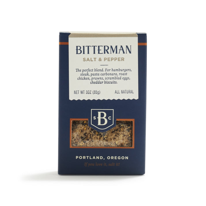 Bitterman's Salt & Pepper Salt