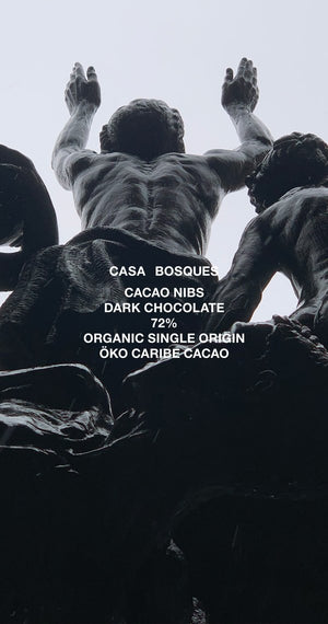 Casa Bosques 72% Dark Chocolate with Cacao Nibs