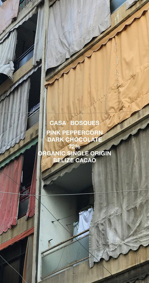 Casa Bosques 72% Dark Chocolate with Pink Peppercorn