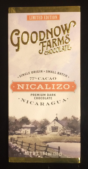 Goodnow Farms Nicalizo Nicaragua 77% Dark Chocolate-Chocolate-The Meadow
