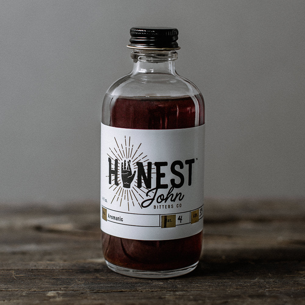 Honest John Aromatic Bitters-Bitters, Syrups and Shrubs-The Meadow