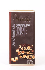Venchi Dark Chocolate with Hazelnuts