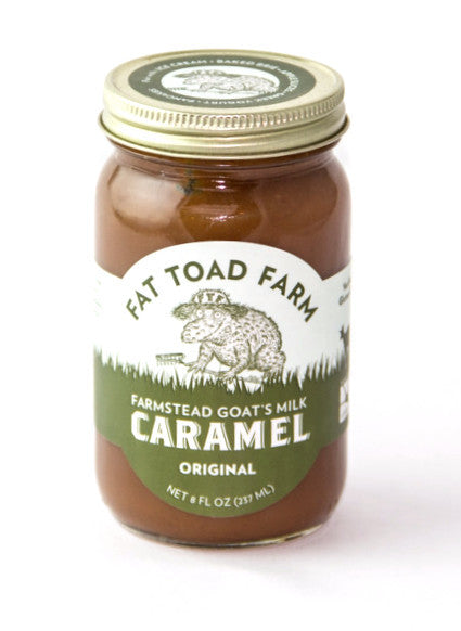 Fat Toad Farm Caramel Sauce-Pantry-The Meadow