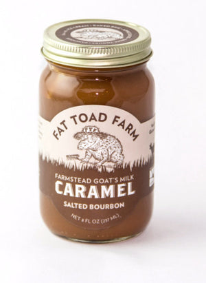 Fat Toad Farm's Salted Bourbon Caramel-Pantry-The Meadow