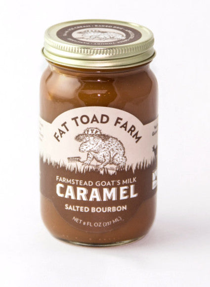 Fat Toad Farm's Salted Bourbon Caramel