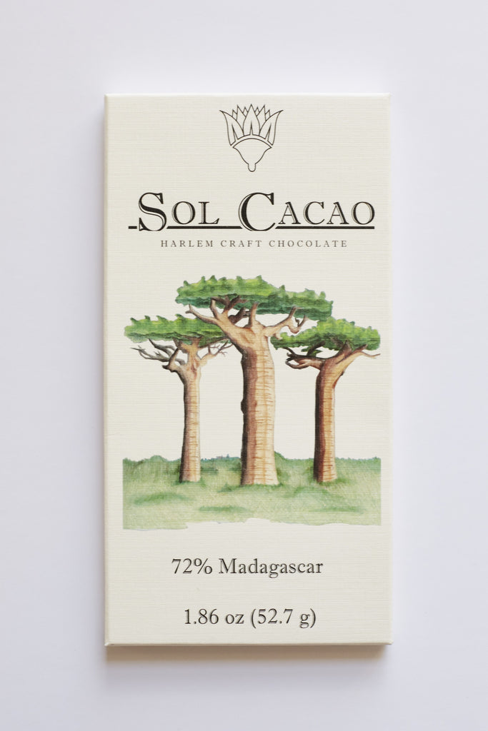 Sol Cacao Madagascar 72% Dark Chocolate