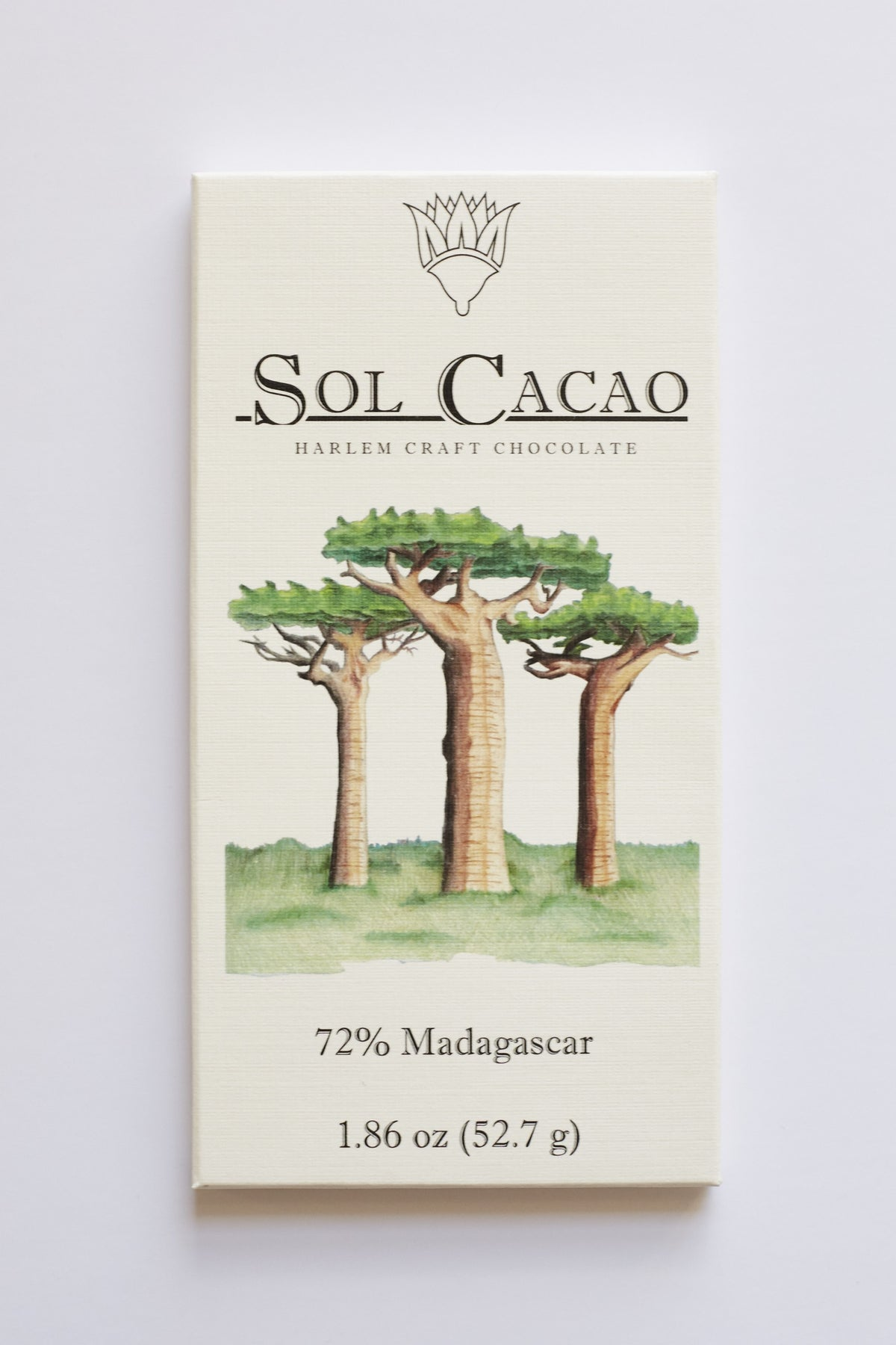 Sol Cacao Madagascar 72% Dark Chocolate-Chocolate-The Meadow