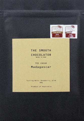 Smooth Chocolator Madagascar 72% Dark Chocolate