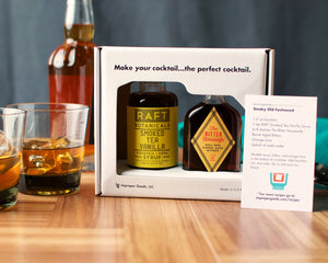 Cocktail Kit: Smokey Old Fashioned-Bitters, Syrups and Shrubs-The Meadow