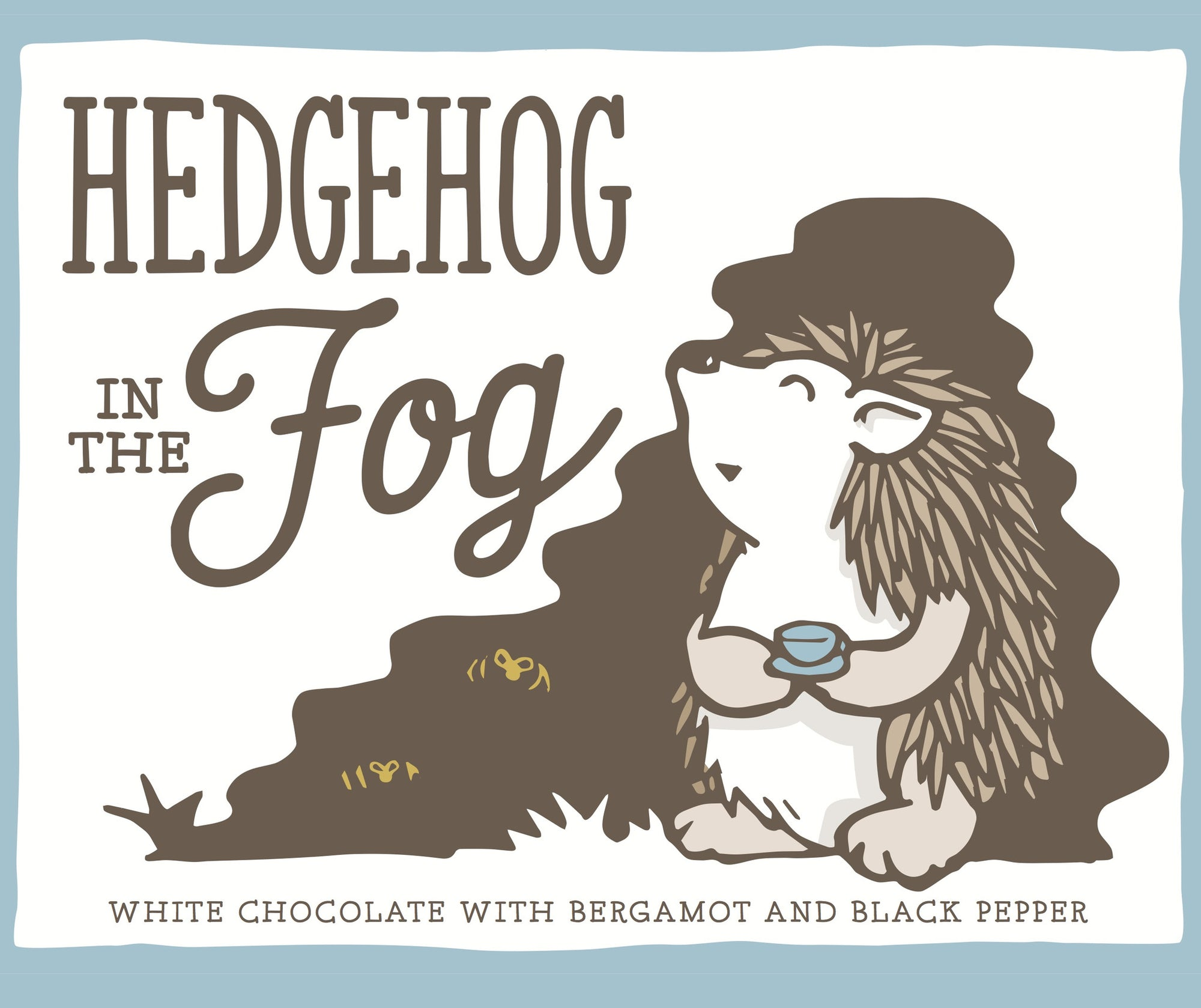 "Only Child ""Hedgehog in the Fog"" White Chocolate with Bergamot and Black Pepper-Chocolate-The Meadow"