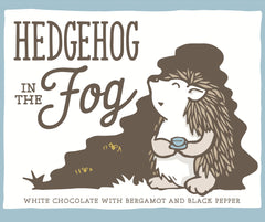 Only Child Hedgehog in the Fog White Chocolate with Bergamot & Black Pepper