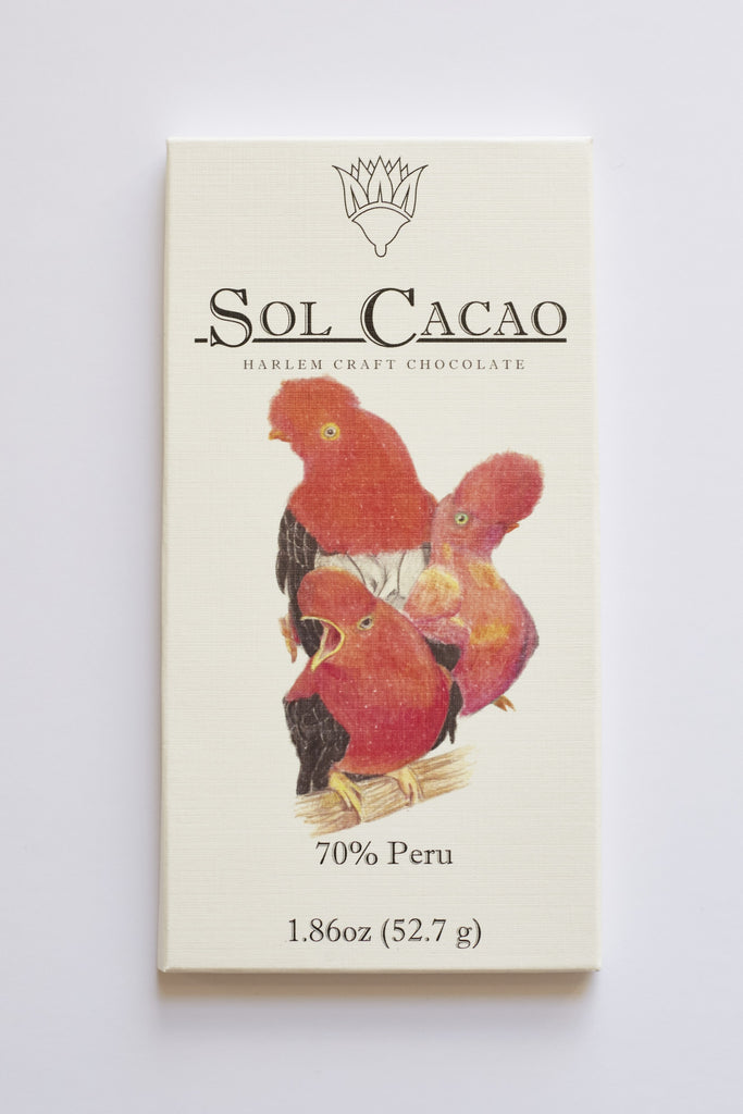 Sol Cacao Peru 70% Dark Chocolate