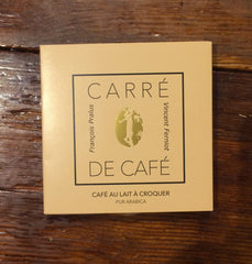 Pralus Carre de Caf� Milk Chocolate with Coffee-Chocolate-The Meadow