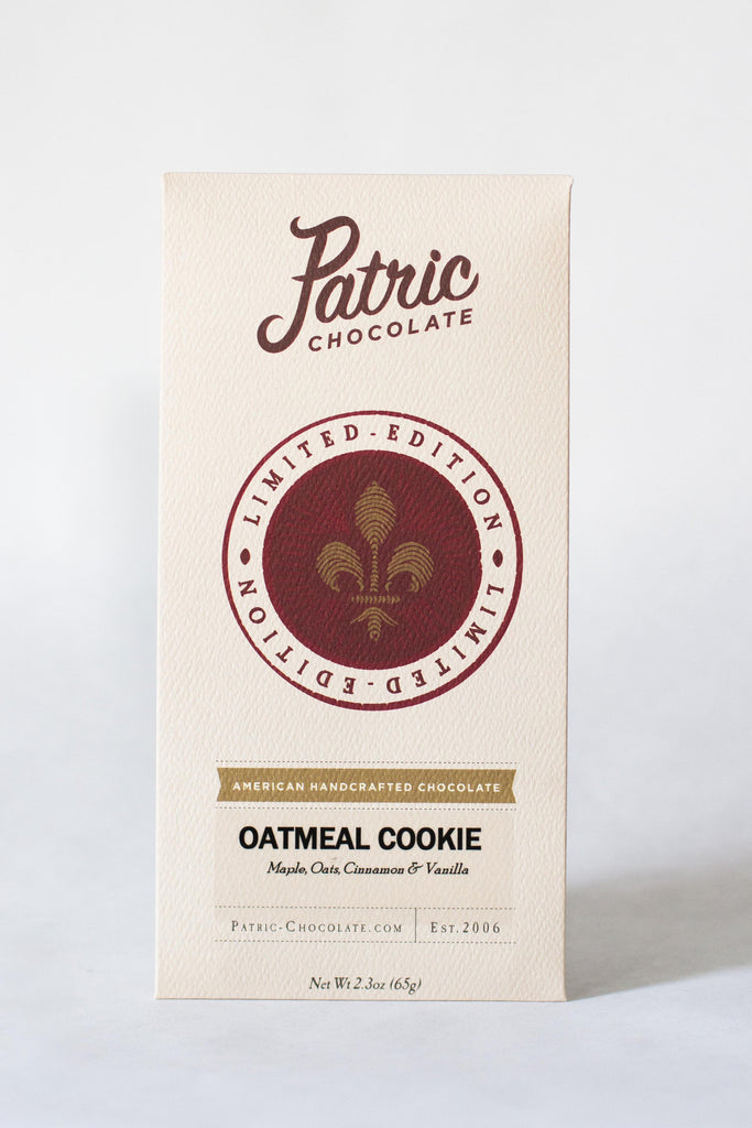 Patric Limited Release Oatmeal Cookie Bar