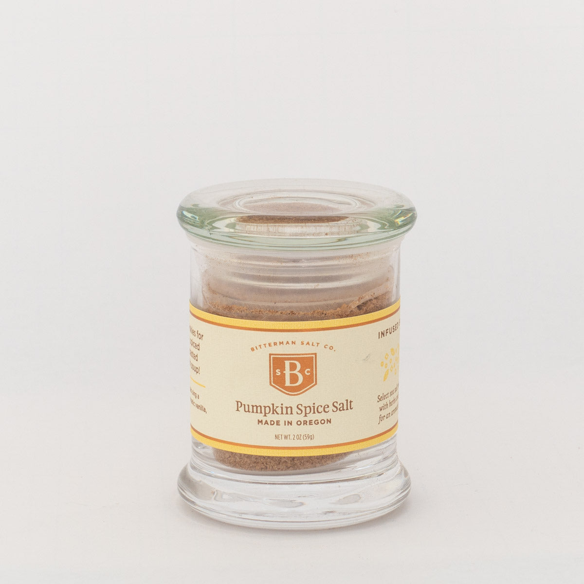 Bitterman's Pumpkin Spice Sea Salt-Gourmet Salt-The Meadow