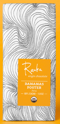 Raaka Bananas Foster 68% Dark Chocolate