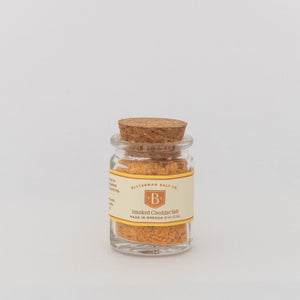 Bitterman's Smoked Cheddar Salt-Gourmet Salt-The Meadow