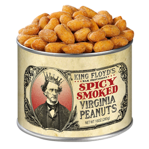 King Floyd's Spicy Smoked Virginia Peanuts-Pantry-The Meadow