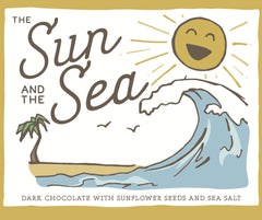 Only Child The Sun and the Sea Dark Chocolate with Sunflower Seeds & Sea Salt