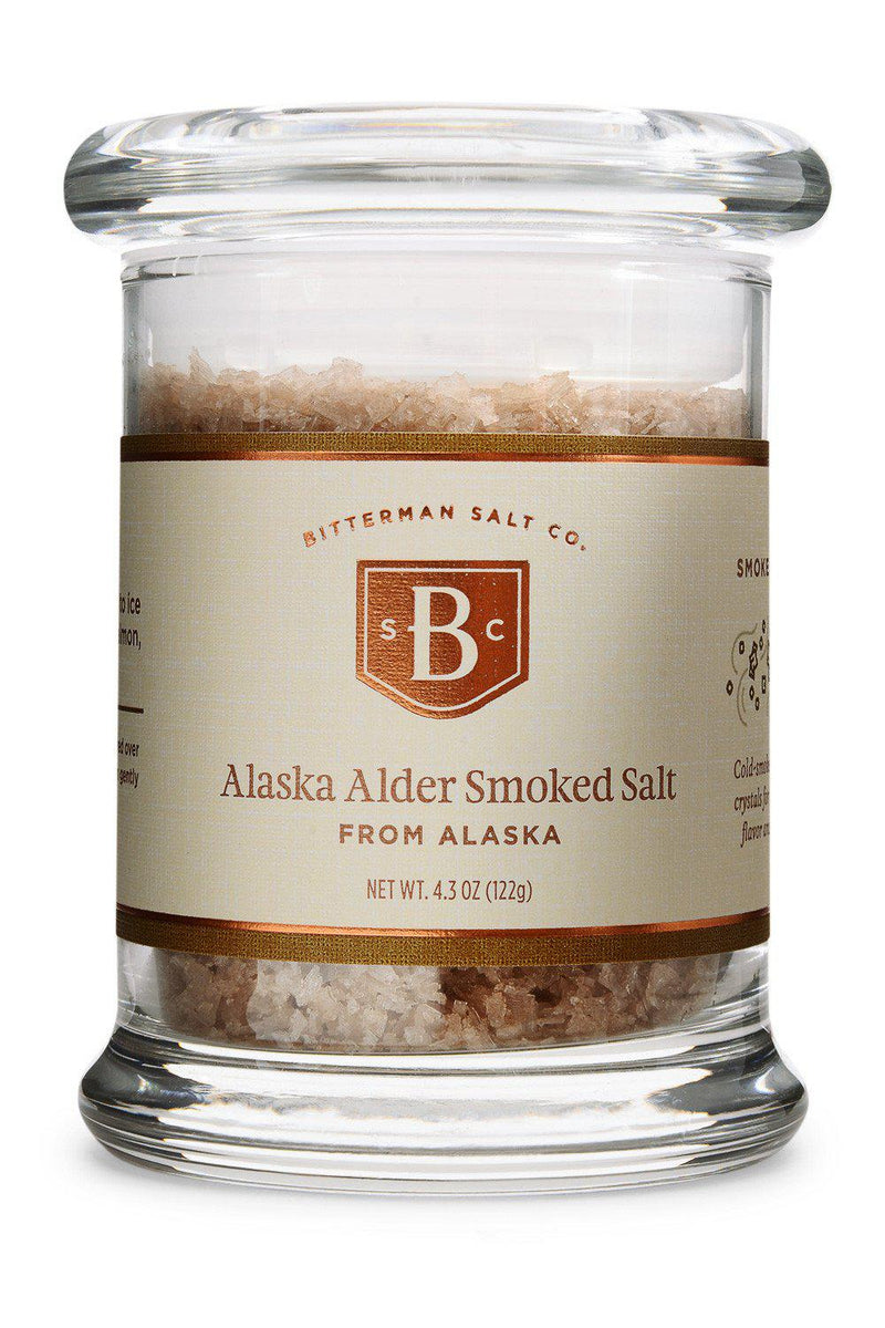 Alaska Alder Smoked Sea Salt-Gourmet Salt-The Meadow