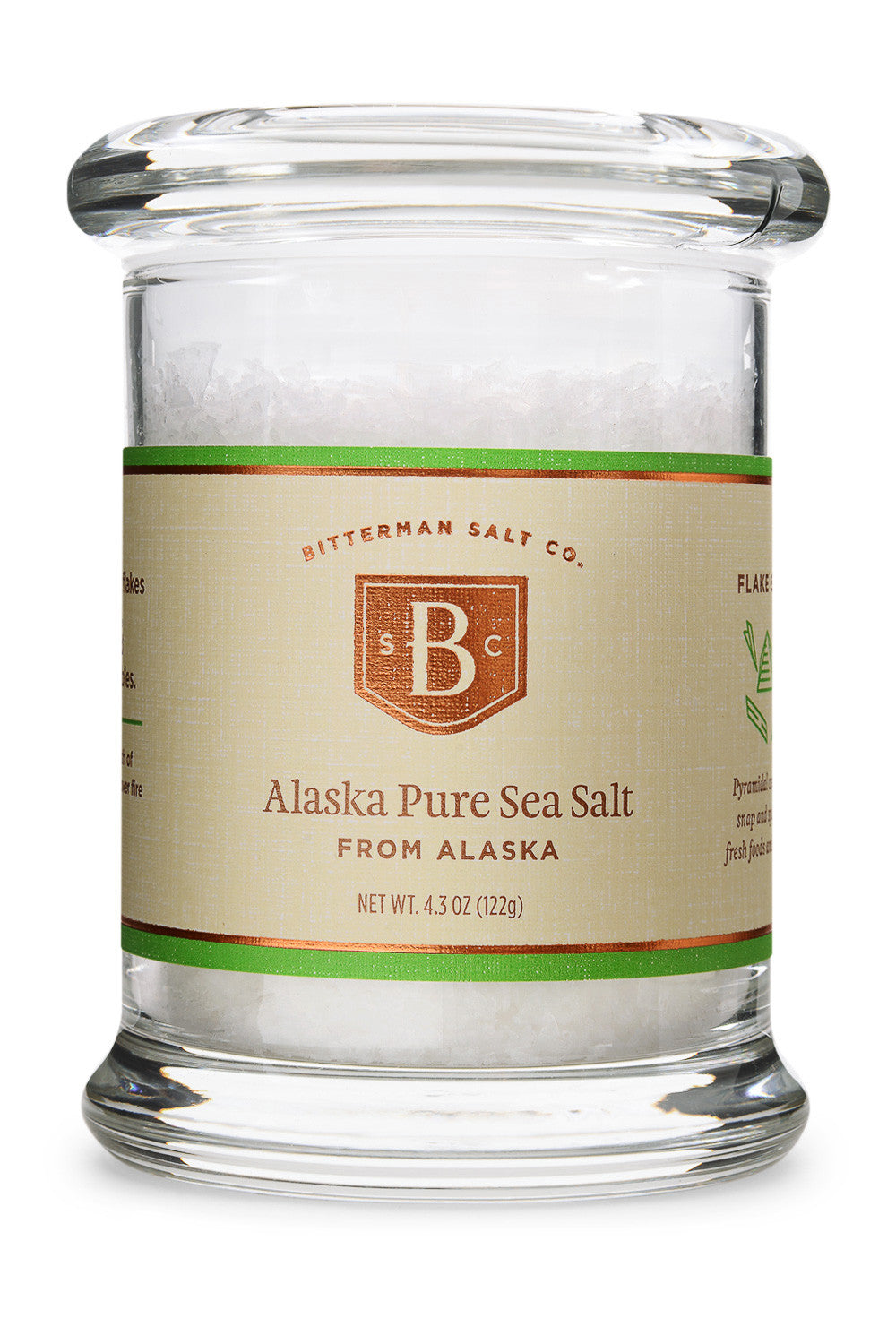 Alaska Pure Flake Sea Salt-Gourmet Salt-The Meadow