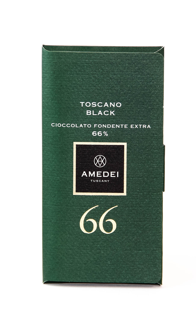 Amedei Toscano Black Dark Chocolate - 66% Cocoa
