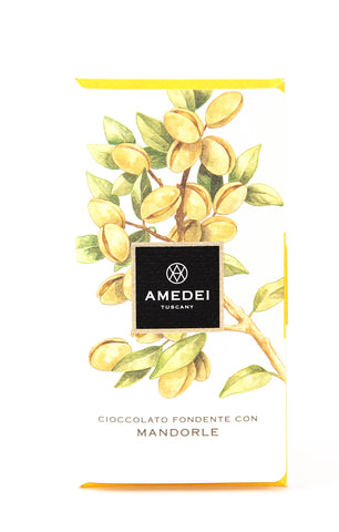 Amedei Mandorle 63% Dark Chocolate with Almonds