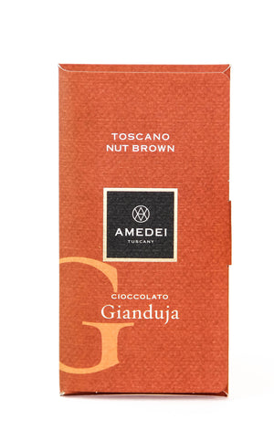 "Amedei Toscano ""Cioccolato Gianduja"" Dark Chocolate with Hazelnut-Chocolate-The Meadow"