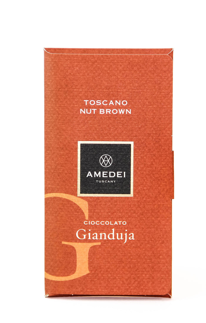 "Amedei Toscano ""Cioccolato Gianduja"" Dark Chocolate with Hazelnut"