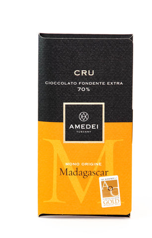 Amedei Madagascar Single Origin Cru - 70% Chocolate Bar