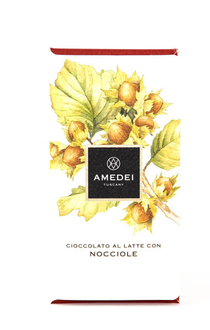 Amedei Hazelnut Milk Chocolate-Chocolate-The Meadow