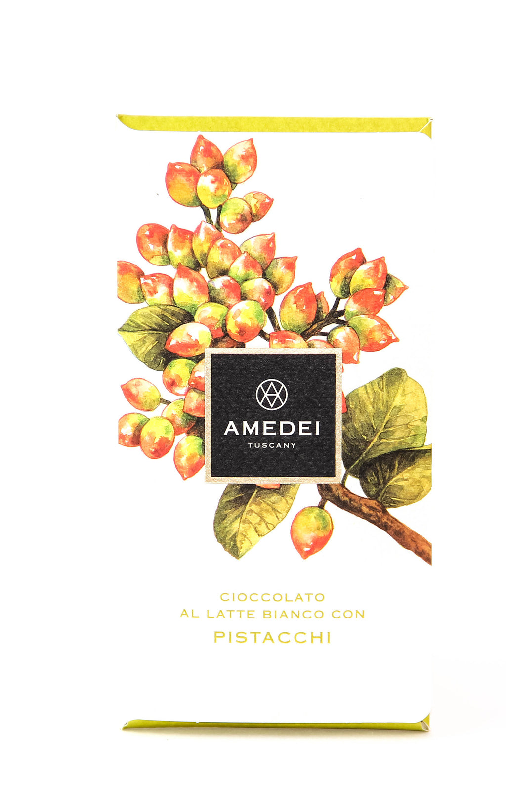 Amedei White Chocolate with Pistachios-Chocolate-The Meadow