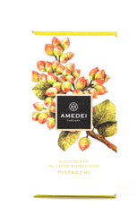 Amedei White Chocolate with Pistachios