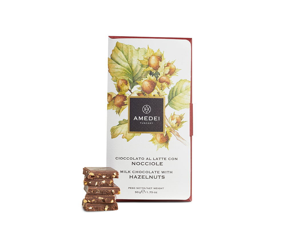 Amedei Hazelnut Milk Chocolate