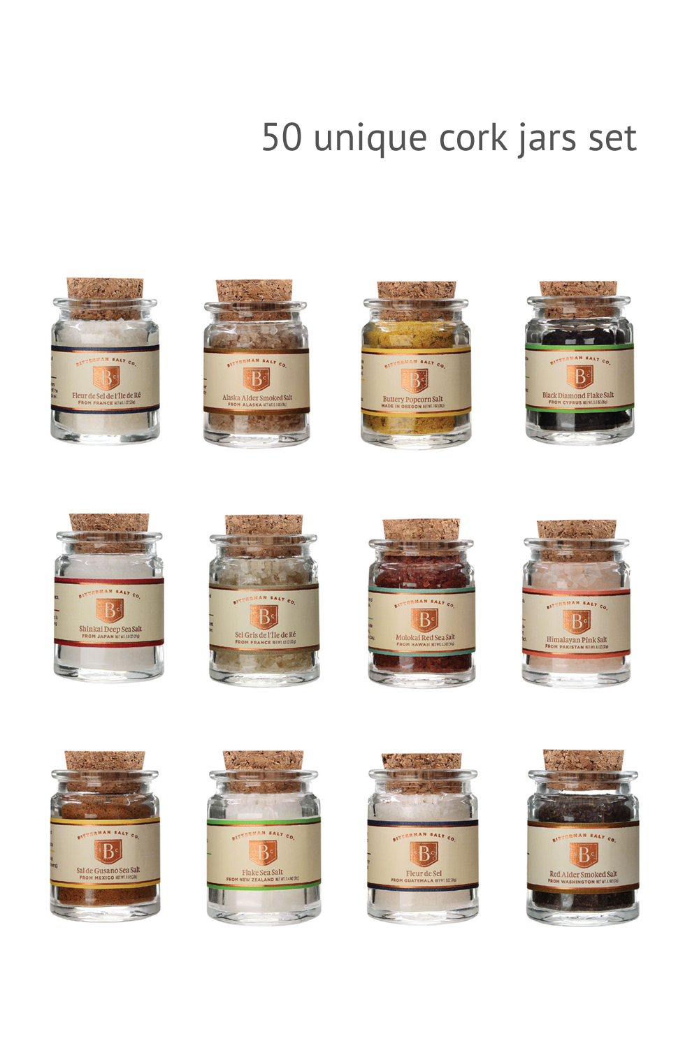 Around the World Salt Set-Gourmet Salt-The Meadow
