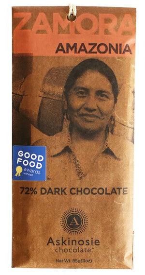 Askinosie Zamora Amazonia 72% Dark Chocolate