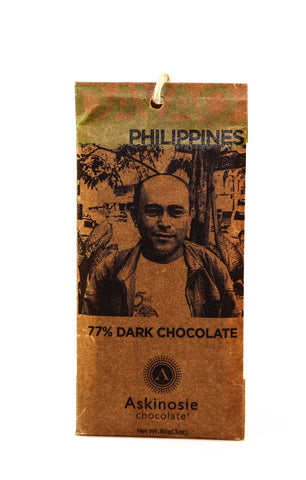 Askinosie Davao 77% Dark Chocolate