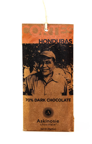 Askinosie Honduras 70% Dark Chocolate