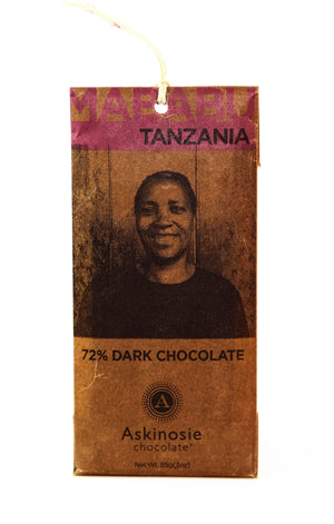 Askinosie Tanzania 72% Dark Chocolate-Chocolate-The Meadow
