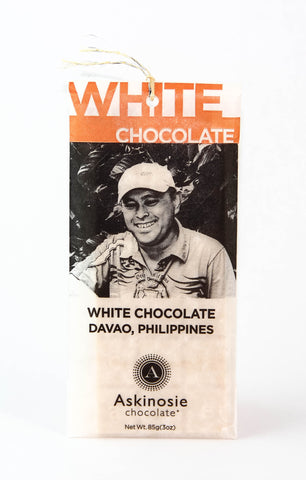 Askinosie Davao 34% White Chocolate