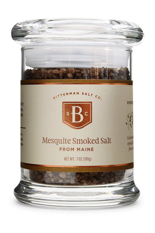 Atlantic Mesquite Smoked Sea Salt