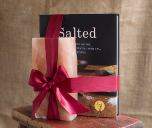"Salted + 8x4x2"" Himalayan Salt Brick Combo-Books-The Meadow"