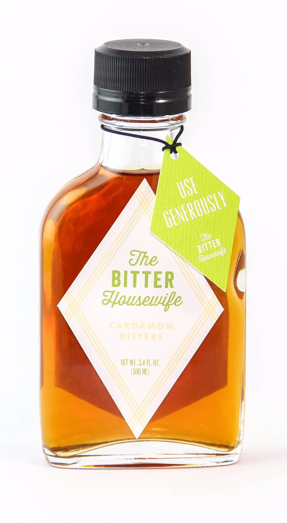 The Bitter Housewife Cardamom Bitters-Bitters, Syrups and Shrubs-The Meadow