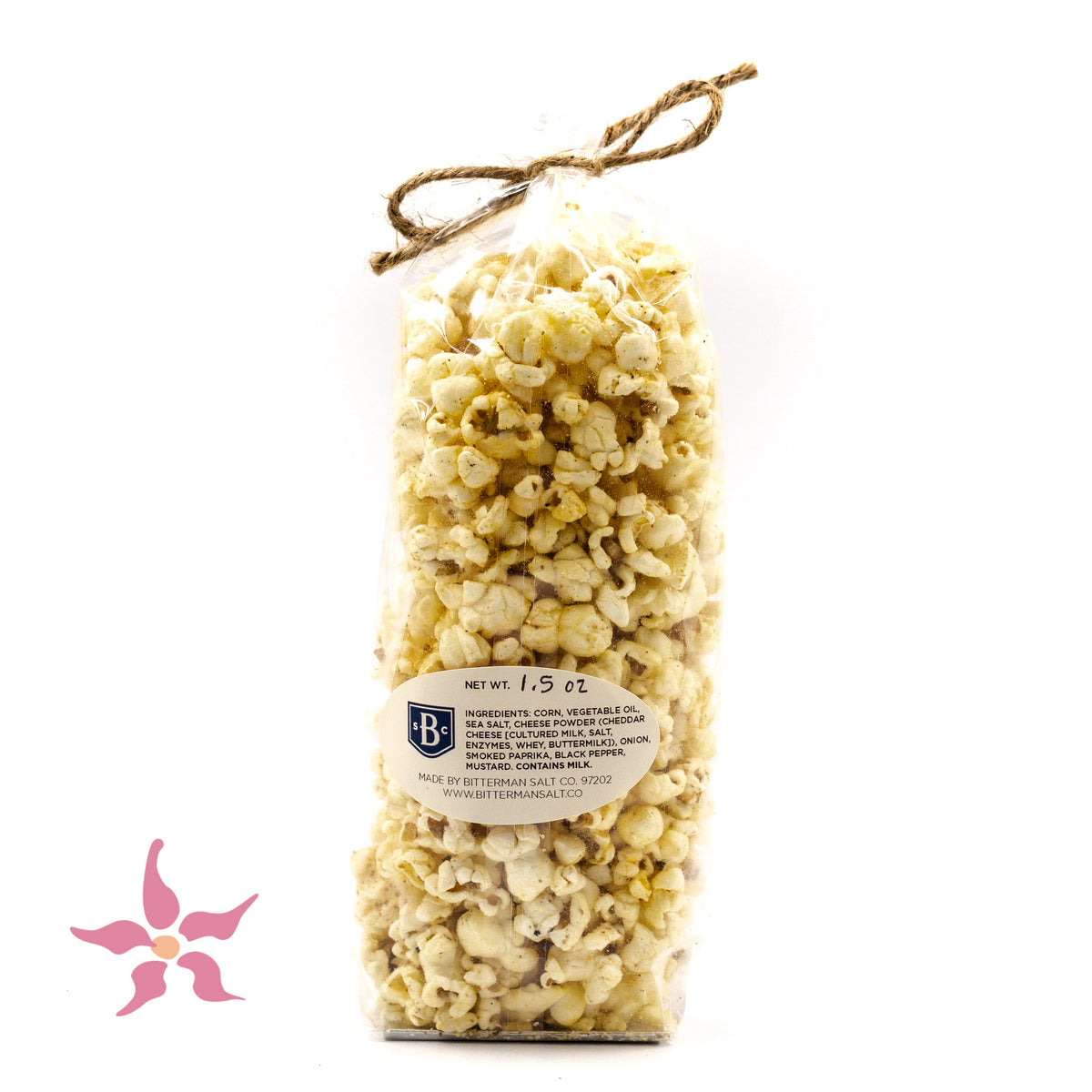 Smoked Cheddar Salted Popcorn - Pre-order now!