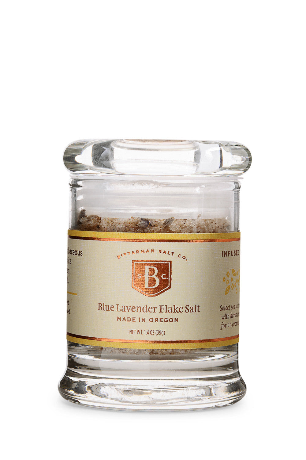 Bitterman's Blue Lavender-Gourmet Salt-The Meadow