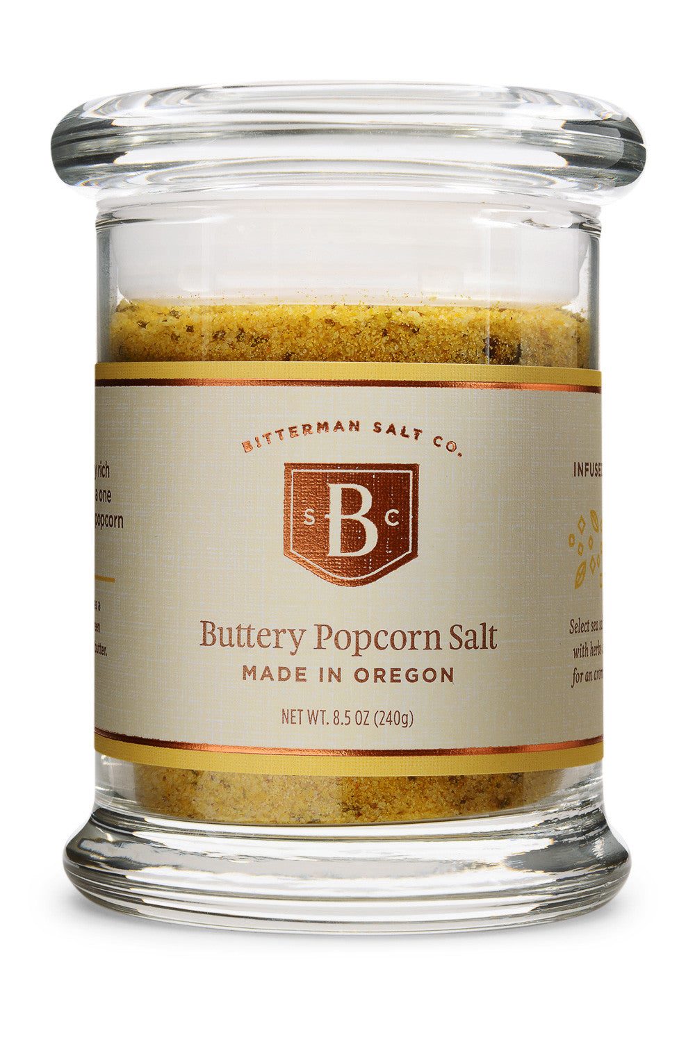 Bitterman S Buttery Popcorn Salt Flavored Salt The Meadow
