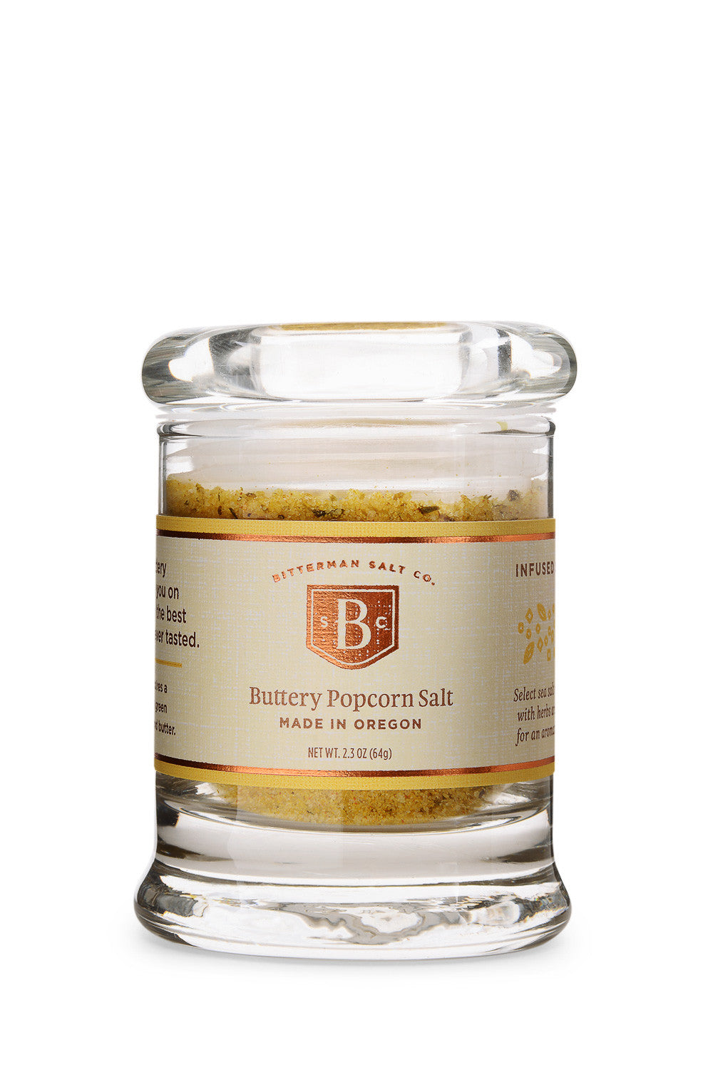 Bitterman's Buttery Popcorn Salt-Gourmet Salt-The Meadow