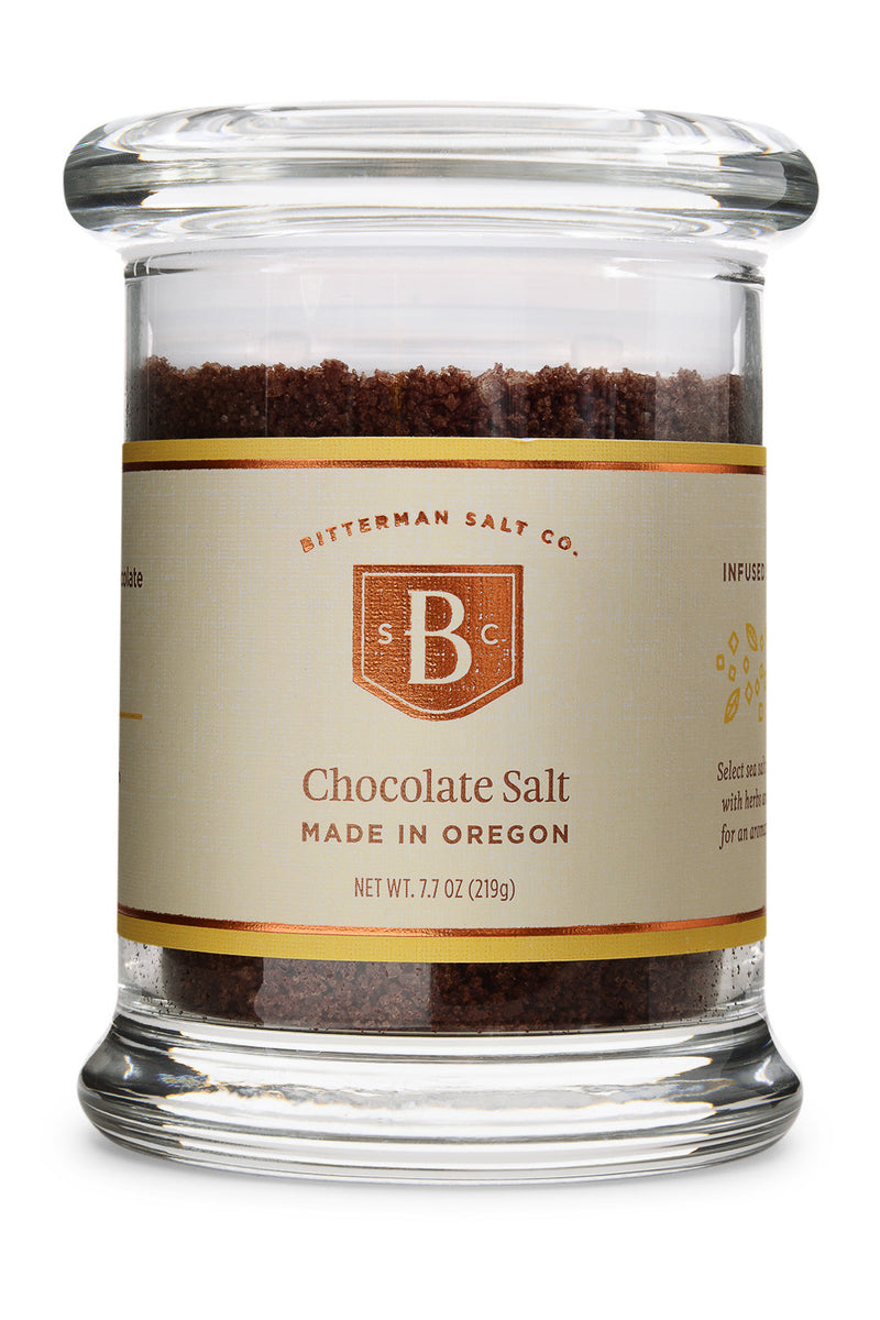 Bitterman's Chocolate Fleur de Sel-Gourmet Salt-The Meadow