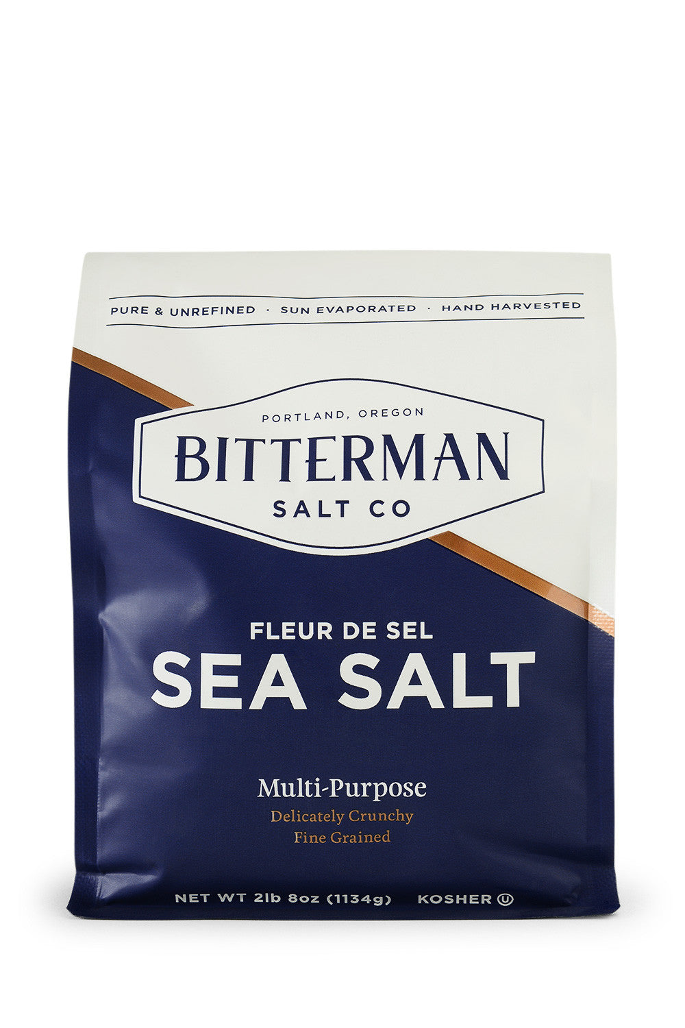 Bitterman's Fleur de Sel Sea Salt-Gourmet Salt-The Meadow