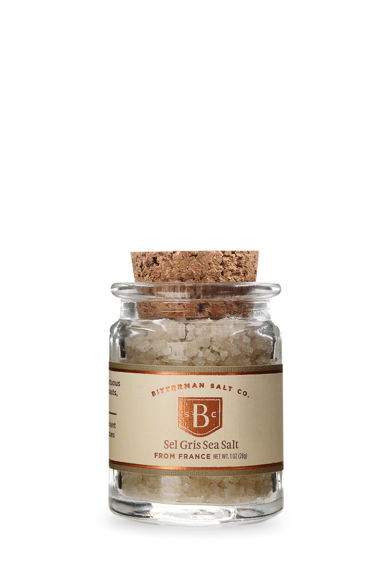 Bitterman's Sel Gris Sea Salt-Gourmet Salt-The Meadow